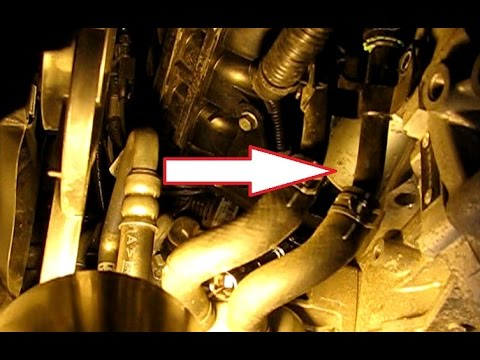 How To Replace The Starter In A 2 4l Hyundai Sonata Part 1 Removal You