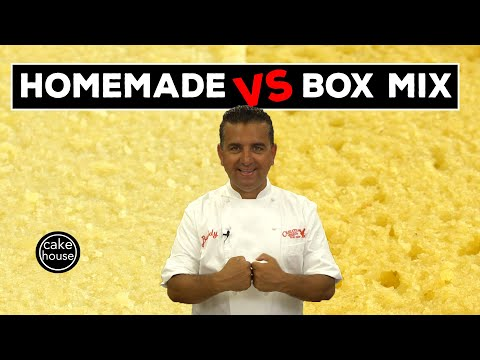 Battle Of The Batters! Box Mix Vs. Scratch Mix!   Welcome To Cake Ep13