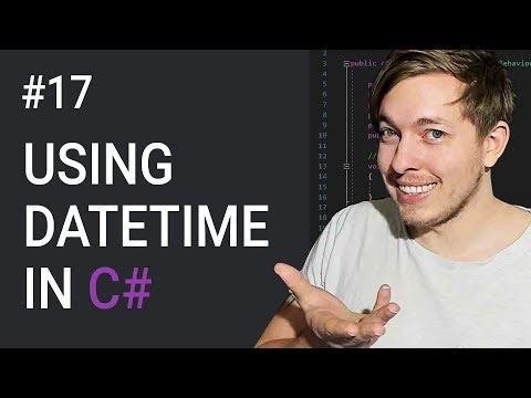 17: DateTime In C# | Creating Dates And Times In C# | C# Tutorial For Beginners | C Sharp Tutorial