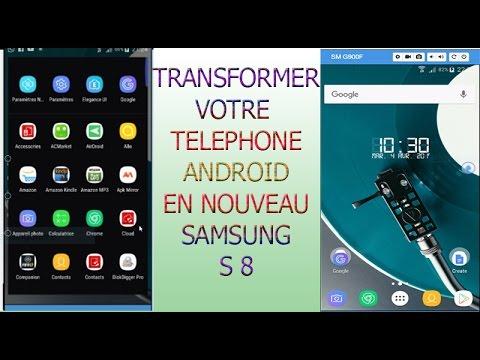 nouveau android samsung