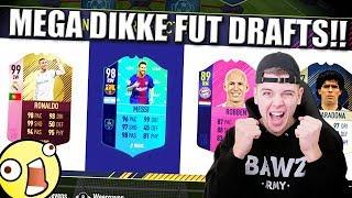 MEGA DIKKE FIFA 18 FUT DRAFTS! 193 CHALLENGE!! NEDERLANDS