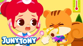 Playing Hospital   Hospital Play   Occupation & Job Songs   Playtime Songs for Kids   JunyTony