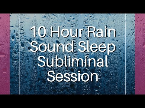 Let Go of Your Guilt & Forgive Yourself - (10 Hour) Rain Sound - Sleep Subliminal - By Thomas Hall