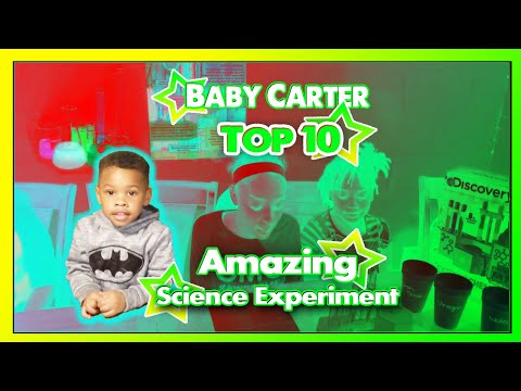 Top 10 Amazing Chemical Science Experiments that you can for at Home for Kids!