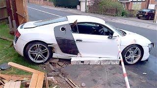 STUPID AUDI DRIVERS WITH LOW IQ! Crazy AUDI Driving Fails 2017