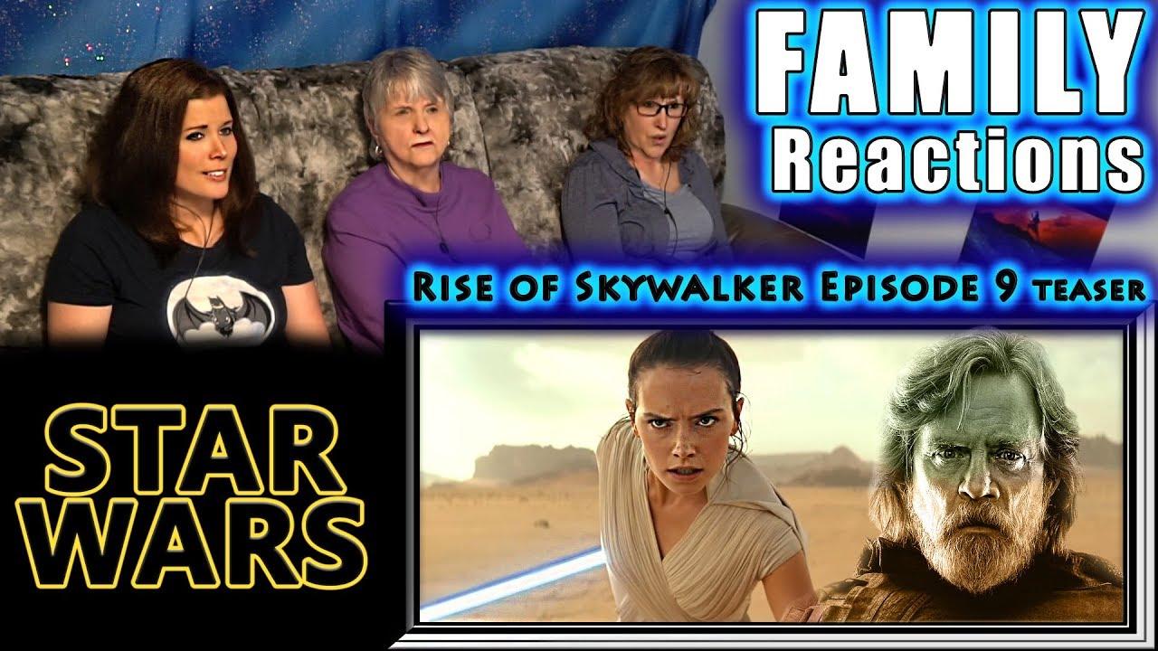 STAR WARS | Episode 9 | teaser | Rise of Skywalker | FAMILY Reactions