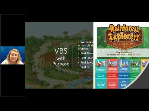 Rainforest Explorers 2020 VBS Overview