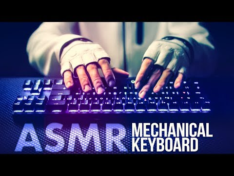 ASMR Mechanical KEYBOARD ⌨️Typing Sounds 💤NO TALKING for SLEEP