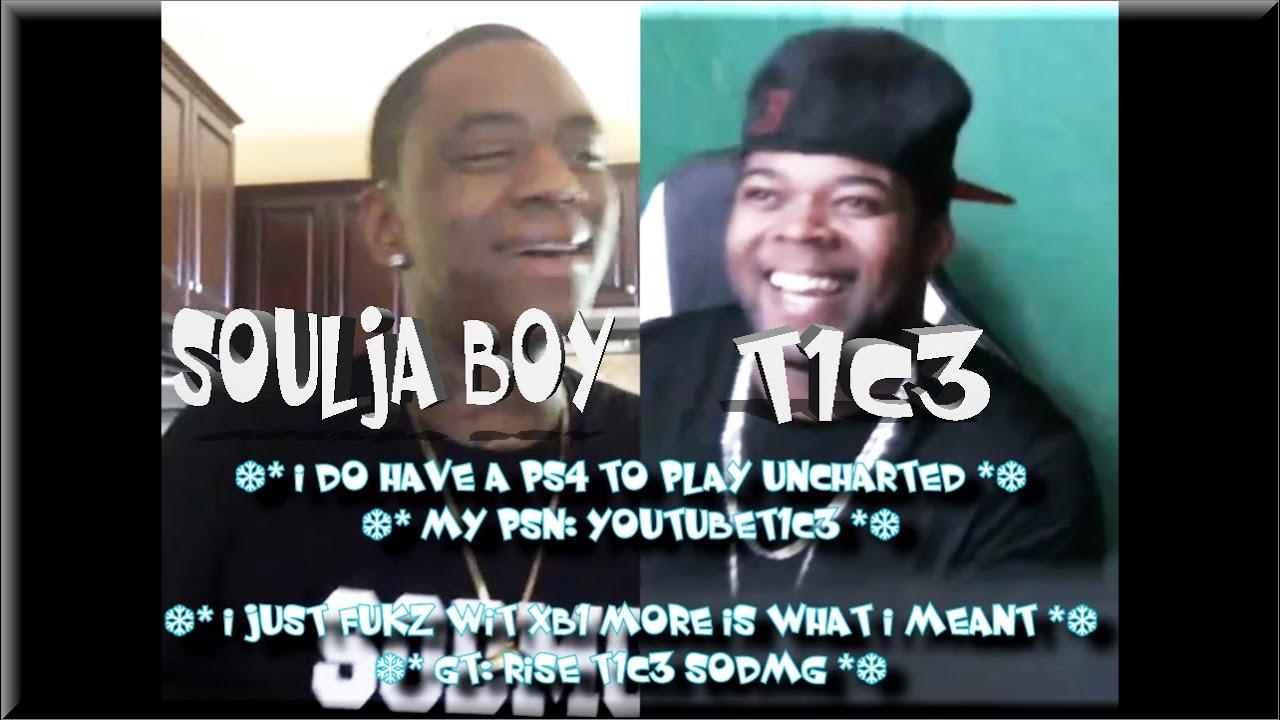 Download T1C3 x Soulja Boy [ Soulja Boy Shout Out on YouNow ]