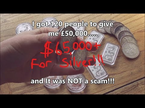 100+ strangers gave me £50,000 ($65,000) to buy Silver & Gold.....