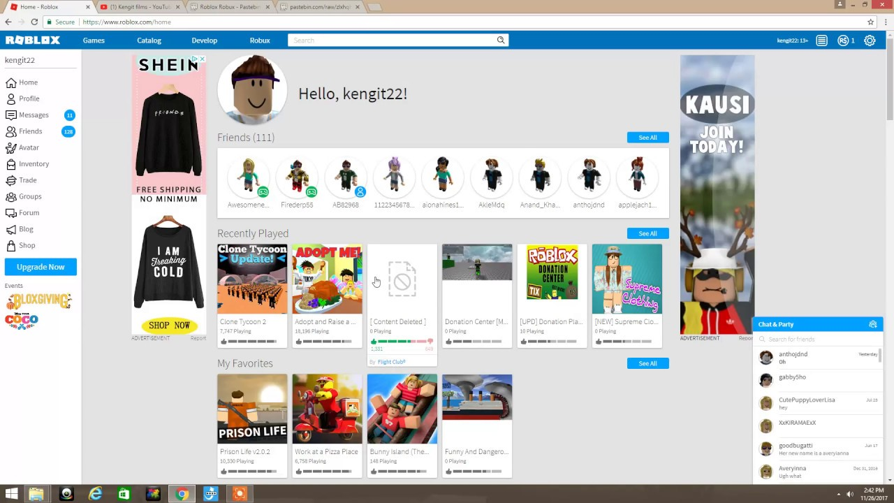 How To Get Free Robux Not Fake Only Works On Computer Youtube
