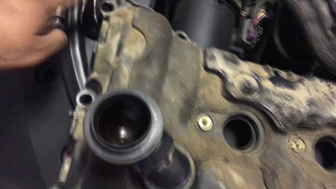hight resolution of changing the valve gasket and spark plug seals on a cts 2010 v6