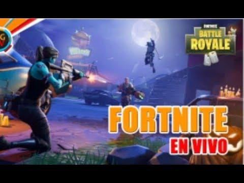 Directo de Fortnite con mis amigos ( Jotafor10 , Paul9xPlay y ZombieTroll )