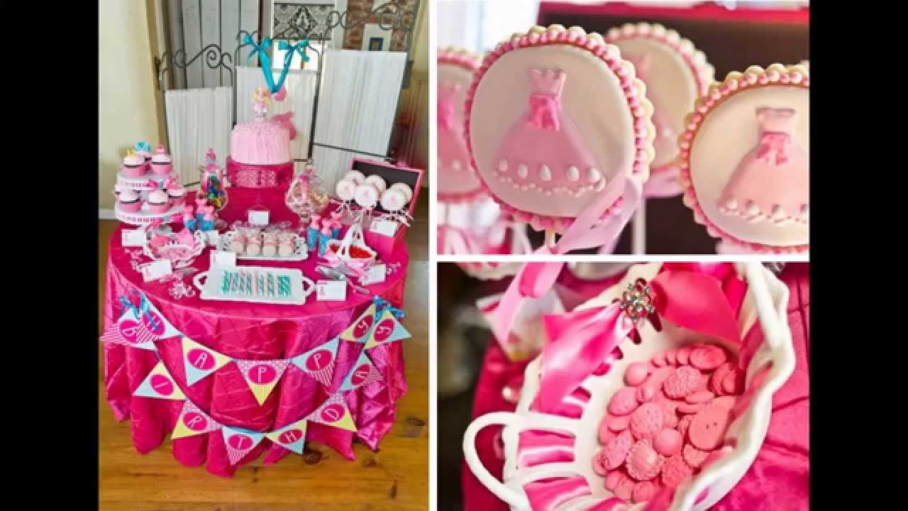 Little Kid Birthday Party Cute Little Girl Birthday Party Decoration