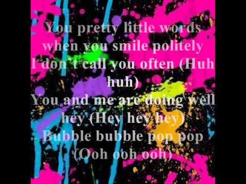 bubble pop lyrics (english)
