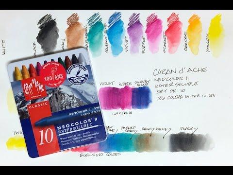 Caran d'Ache Neocolor II Watercolor Crayon