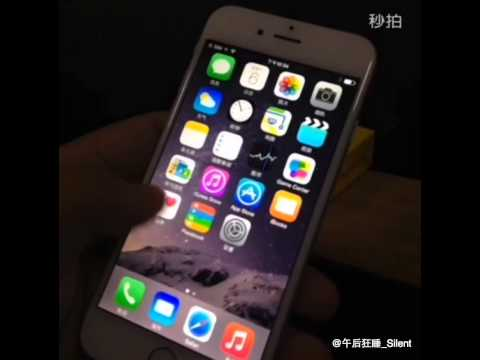 Working iPhone6 leaks from Chinese Weibo
