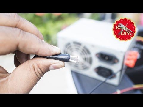 สิ่งประดิษฐ์ ไอเดียจาก Power Supply คอมพิวเตอร์เก่า ที่คุณอาจยังไม่รู้ | Diy ทำเองง่ายๆ by ช่างแบงค์