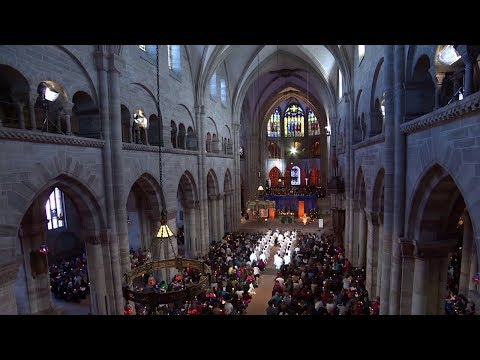 Midday Prayer in Basel / Broadcast live by SRF