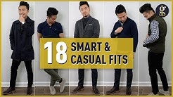 Smart Casual Style Inspiration for Men 2020 | Ash & Erie Mega Try-On Haul