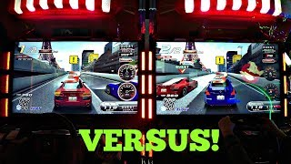 Wangan Midnight Maximum Tune 5 Arcade Auto Racing Game 2 Player: Piper Vs Doc, Rocky VS Piper