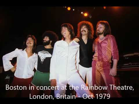Boston Live Rainbow Theatre Britain 10-16-1979 Full Audio Recording