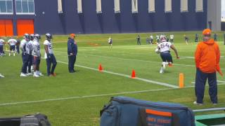 Broncos ILBs starring it up for OTAs