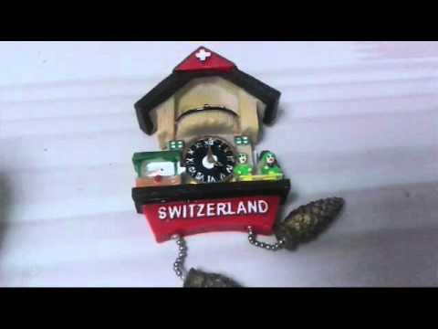 스위스 에서 산 기념품들!!♥