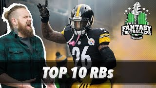 Fantasy Football 2017 - Top 10 Running Backs + ADP Price Check - Ep. #409 thumbnail