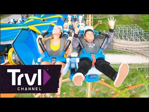 Ride Thunderbird Roller Coaster at Holiday World - Travel Channel