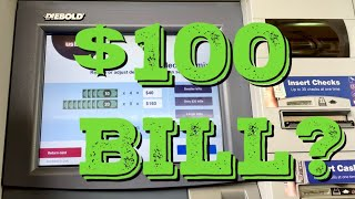 Can You Get $100 Bill From a US Bank ATM?