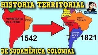 ¿BOLIVIA Fue Parte de PERÚ alguna vez? Cronología Limítrofe e Historia Territorial de Sudamérica
