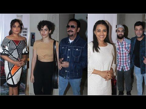 Swara Bhaskar | Ali Fazal At Screening Of Richa Chadha Debut Production Khoon Aali Chithi
