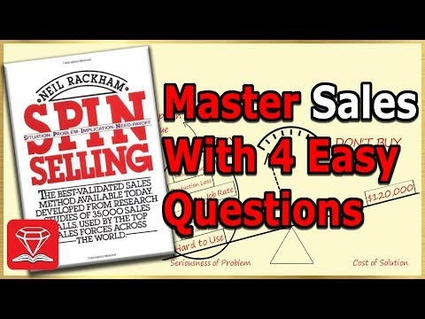 Become a Sales Master with 4 Easy Questions | SPIN SELLING Explained