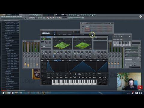 How To Dubstep: Dirty / Skrillex Serum Bass Sounds FL Studio Tutorial + Free Presets, FLP, Samples