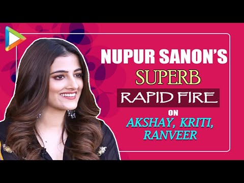 "Nupur Sanon: ""SEXIEST man in Bollywood is..."" 