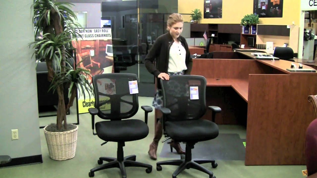 Review of the Elusion Office Chair by Alera  YouTube