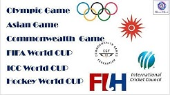 Olympic, Asian game, commonwealth and Other international cup schedule  #Sports