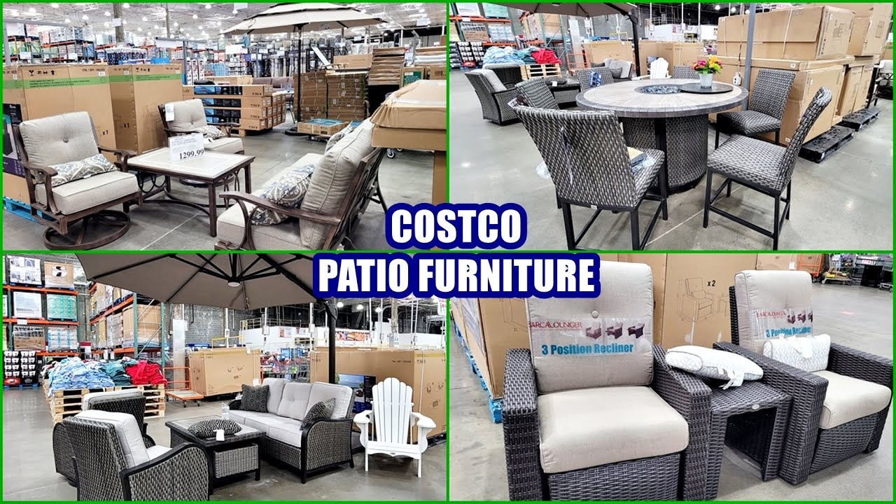 costco patio furniture shop with me 2021 new finds