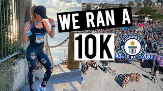 WE RAN A 10K + Set a World Record!