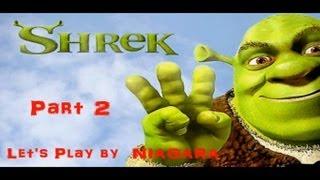 Шрек 3 (Shrek the Third) Прохождение Часть 2
