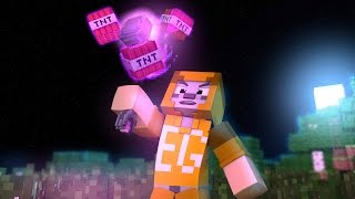 MINECRAFT - MINIGAME #36: TNT WIZARD E TNT RUN! SÓ BOMBAS!