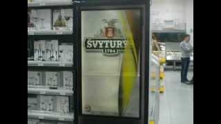 Рекламный видеохолодильник(Холодильник с прозрачным видеоэкраном - впервые в розничной сети! Сверхяркое изображение, видимое издалека..., 2012-06-26T08:09:45.000Z)