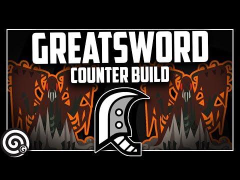 COUNTER BUILD - Greatsword vs Arch Tempered Vaal Hazak | Monster Hunter World thumbnail