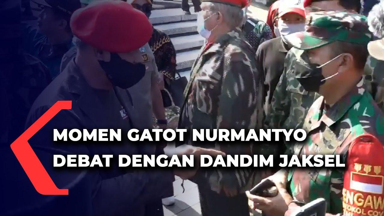 Download Detik-Detik Gatot Nurmantyo Bersitegang dengan Dandim Jaksel di TMP Kalibata