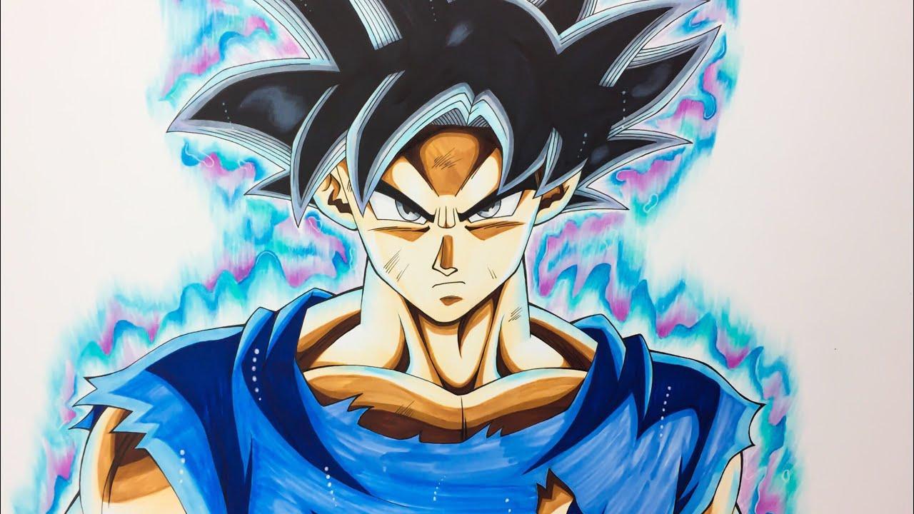 孫悟空 身勝手の極意(兆) 描いてみた/Drawing Goku Ultra Instinct