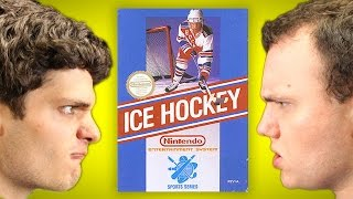 ICE HOCKEY (NES) | Jordan vs. Josh