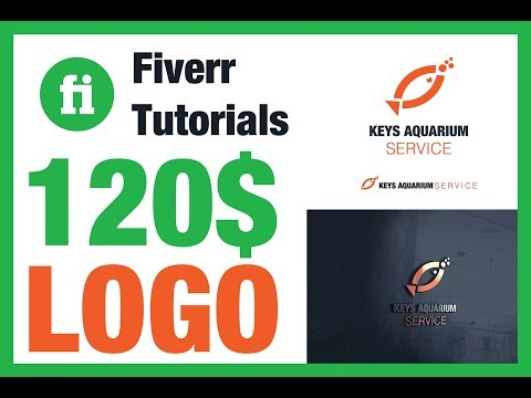 logo design process from start to finish | Fiverr Order 120$