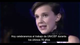[SUB] Millie Bobby Brown - Discurso introductorio UNICEF