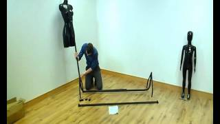 How To Build A Clothes Rail - From Equipashop